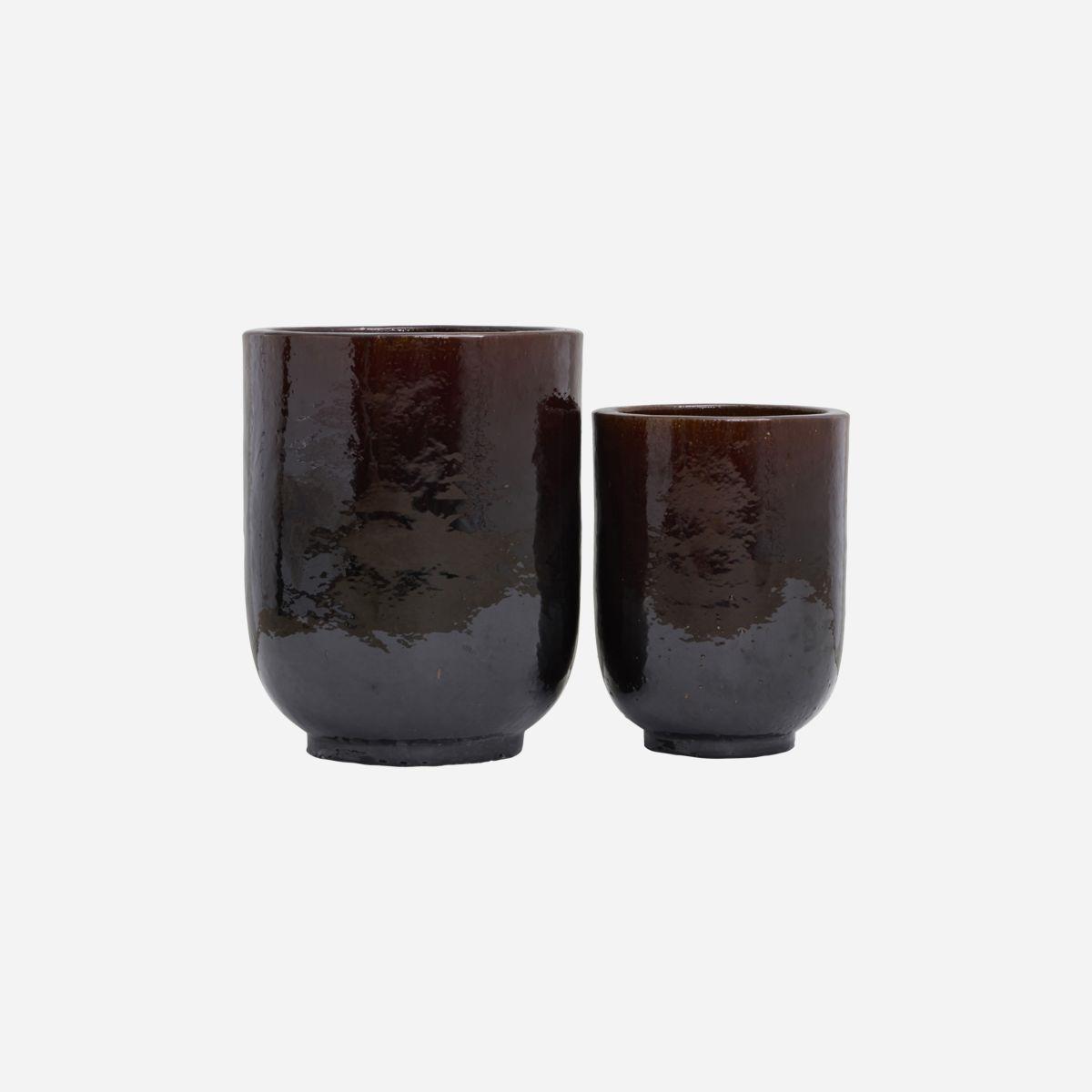 PHO havekrukker – sæt med 2 stk. – Mørkebrun fra House Doctor