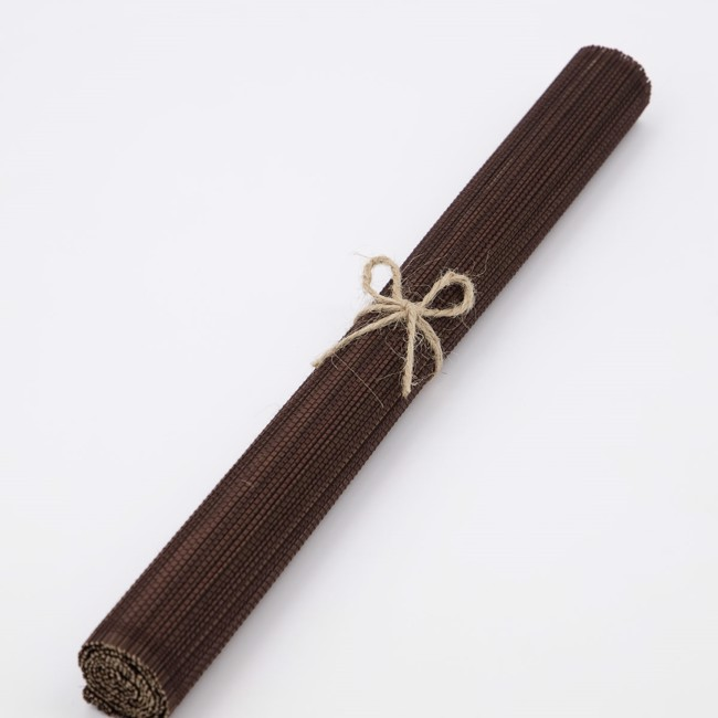 Bamb Dækkeservietter – 4 stk. – Brune fra House Doctor