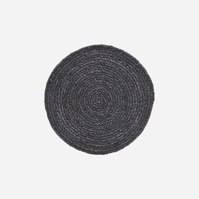 Circle Dækkeserviet – 4 stk. – Grå/Blå fra House Doctor