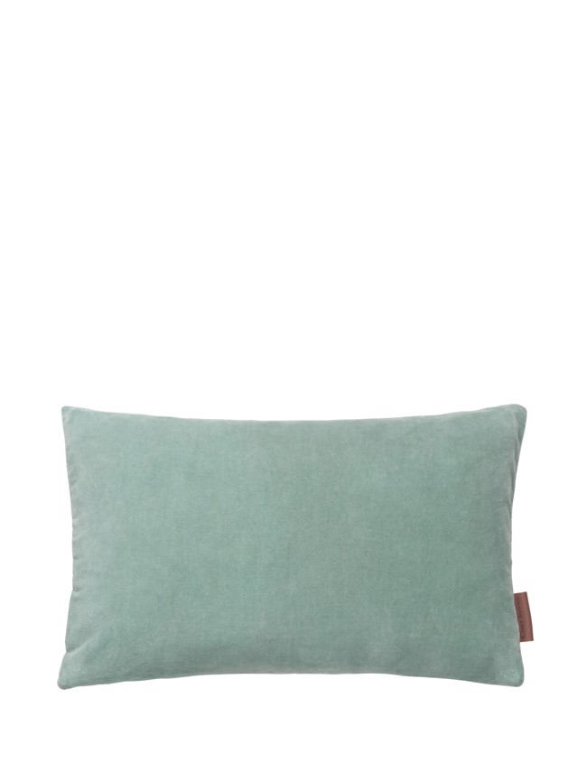 Image of   Aflang Velour Pude Soft Small 30x50cm - Mint fra Cozy Living