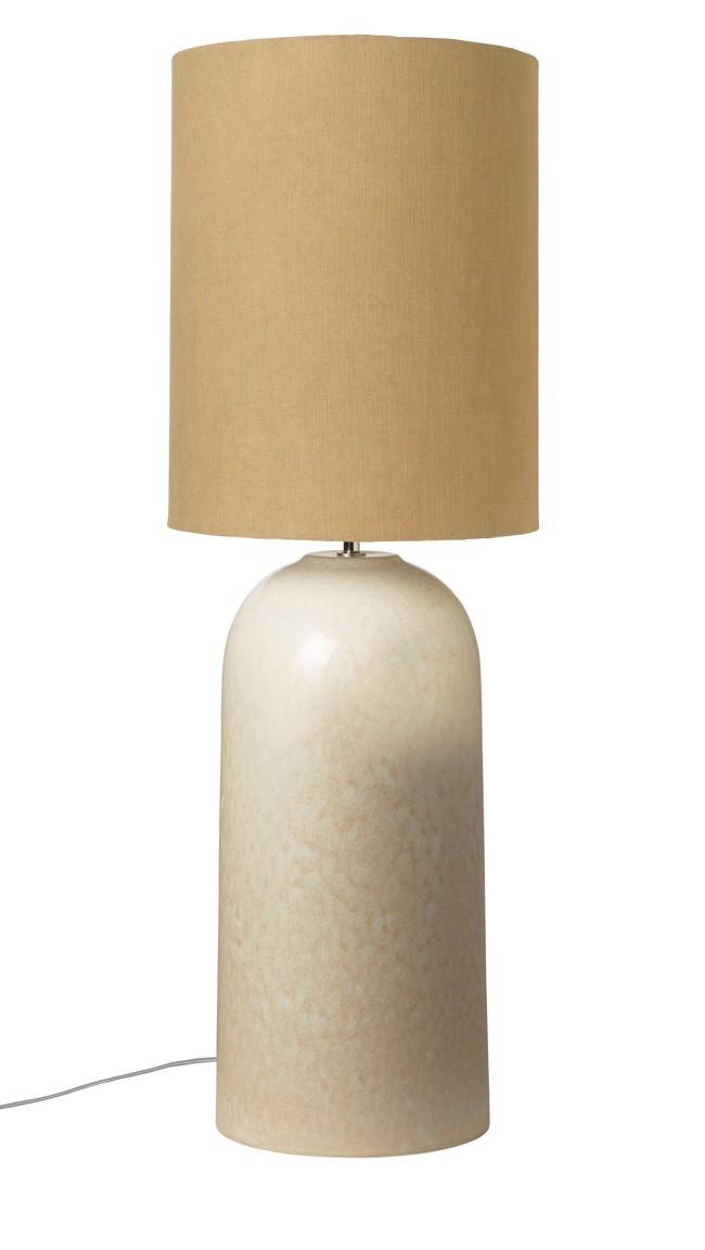 Image of   Asla Bordlampe med lampeskærm - Caramel fra Cozy Living