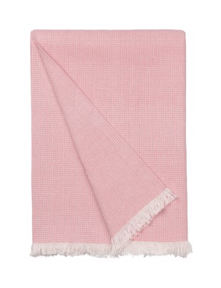 Elsa Summer Plaid i farven Dusty Rose fra Cozy Living
