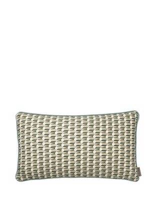Pude Benedicte Graphic farve Seagrass fra Cozy Living