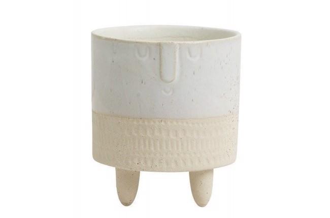 Image of   Vase/urtepotte - small - face - creme fra Nordal