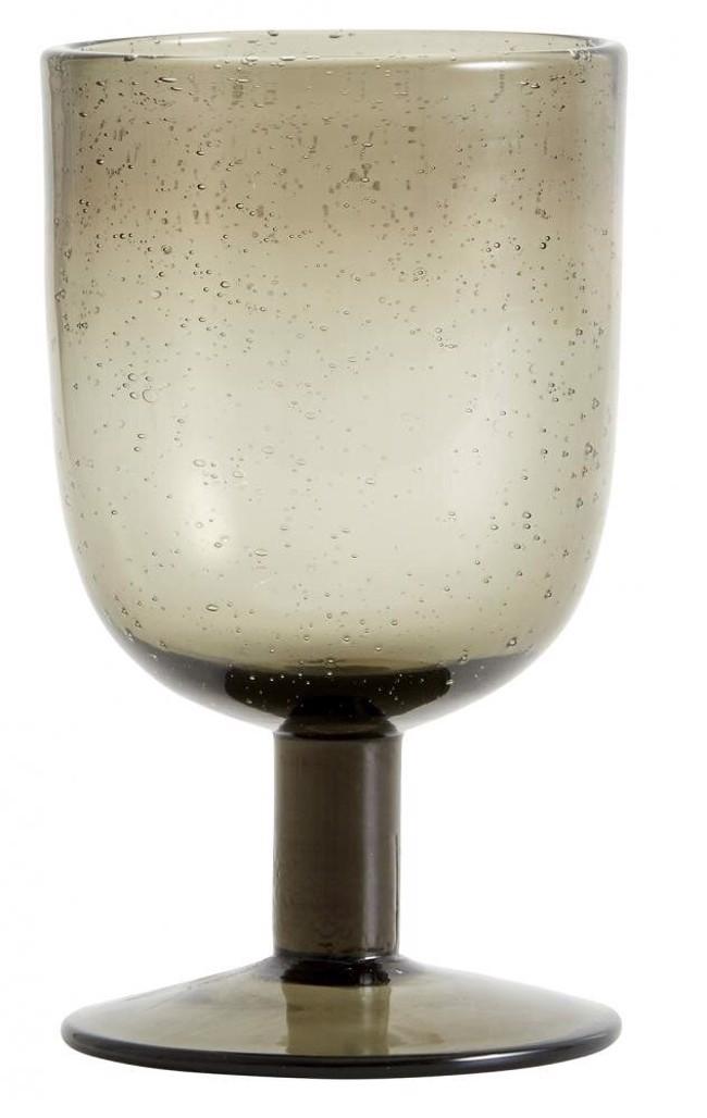 Image of   MAROC håndlavet vinglas, smoke, æske med 6 stk. fra Nordal