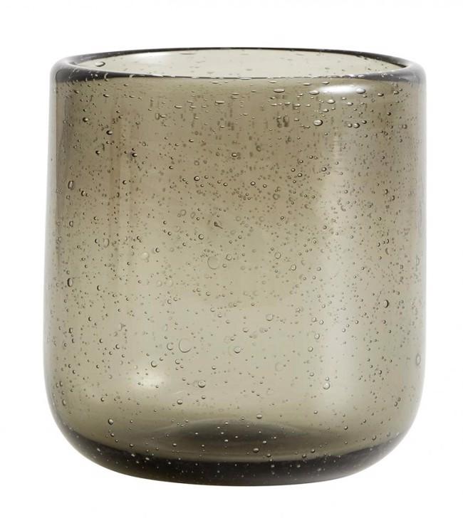 Image of   MAROC håndlavet drikkeglas, 6 stk. fra Nordal - smoke