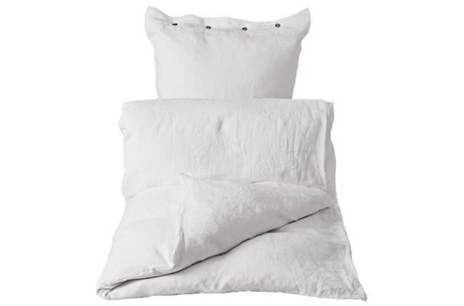 Image of   Joanna sengesæt 205x140 cm hvid fra Lene Bjerre