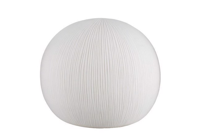 Image of   Hikari bordlampe H36 cm råhvid fra Lene Bjerre