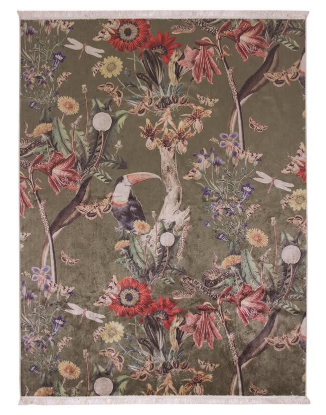 Billede af Airen gulvtæppe - Moss - 120x180 cm fra Essenza