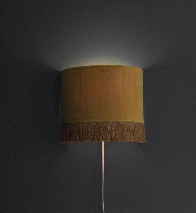 Image of   Alexis væglampe, guld, H21 cm fra PR Home