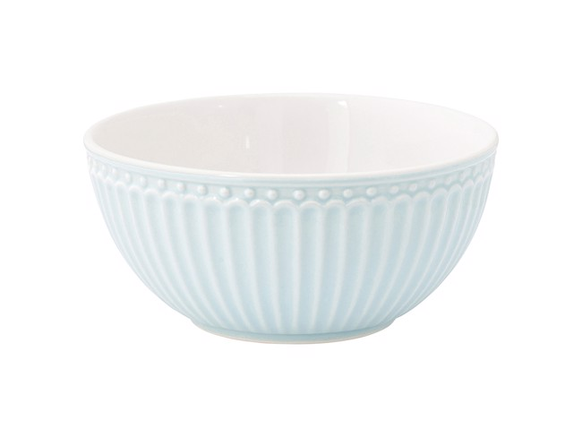 Image of   Alice keramik skål i pale blue fra GreenGate
