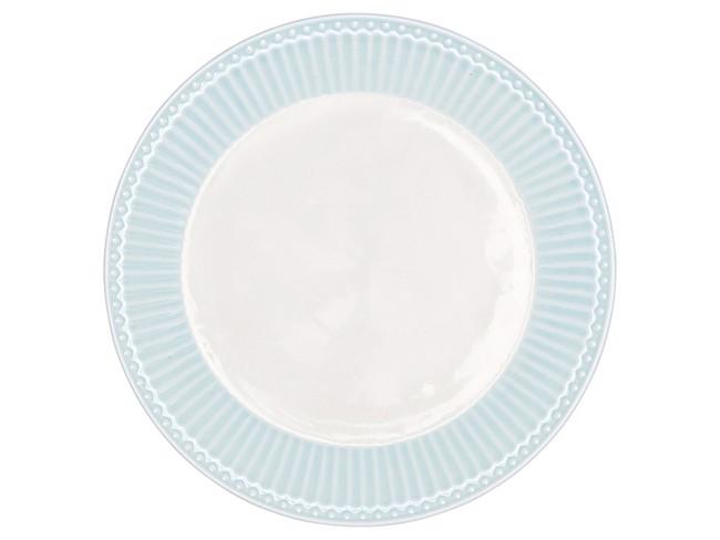 Image of   Alice tallerken Ø23 cm, pale blue fra GreenGate