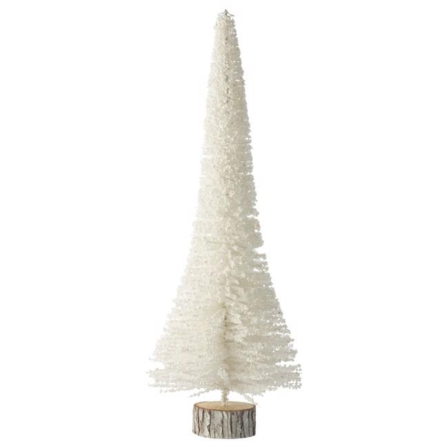 Image of   Alivinne juletræ hvidt - LED - H60 cm fra Lene Bjerre