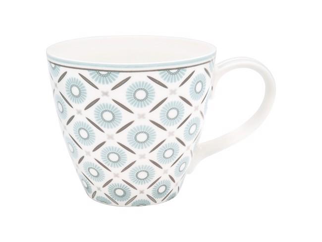 Image of   Alva kaffekop med hank, hvid fra GreenGate