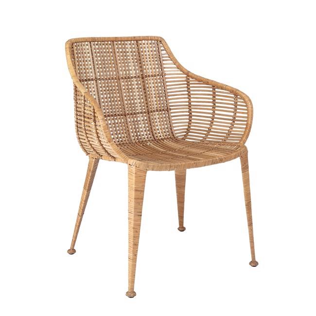 Image of   Amira Lounge Stol, Natur, Rattan fra Bloomingville
