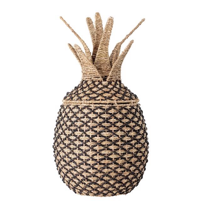 Image of   Ananas kurv med låg fra Bloomingville Mini