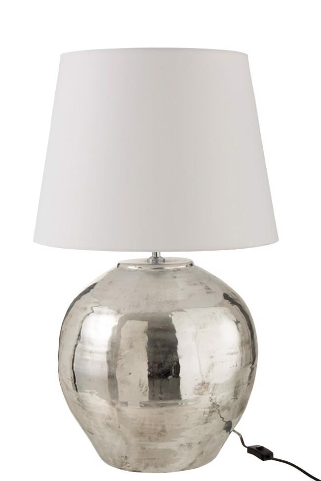 Image of   Arya bordlampe med skærm H73 cm fra J-Line