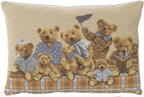 Image of   Baby bears pude, lyseblå, 33x45 cm fra FS Home Collection