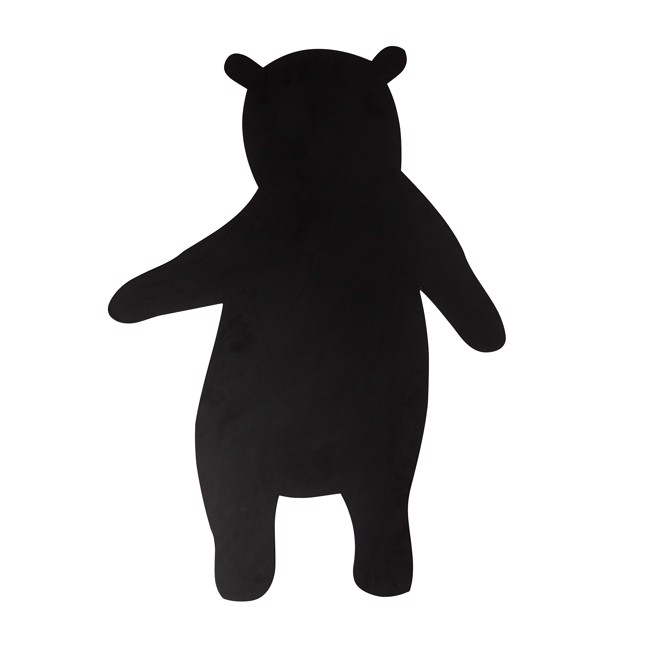 Image of   Bear tavle, sort H100 cm fra Bloomingville Mini