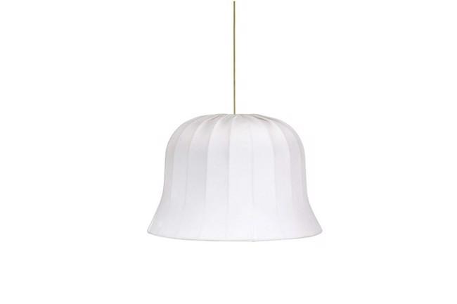 Image of   Bell pendel lampeskærm, hvid Ø45 cm fra PR Home