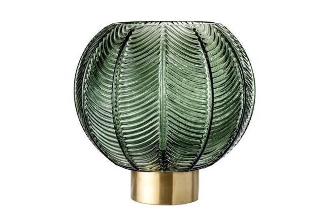 Image of   Vase, Grøn, Glas fra Bloomingville