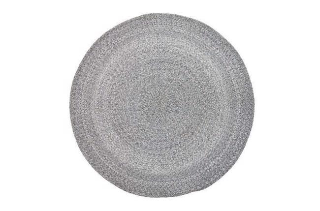 Image of   Tæppe, Grå, Polyester fra Bloomingville