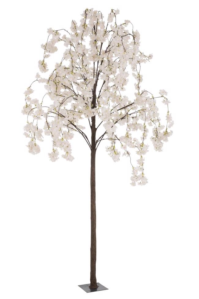 Image of   Blossom træ med hvide blomster H220 cm fra J-Line