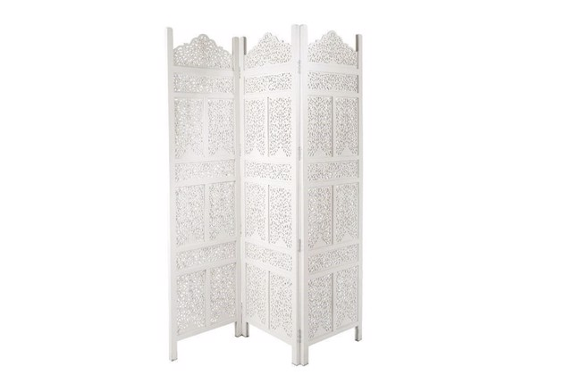 Image of Carve rumdeler 3-delt hvid 51x182 cm fra Affari