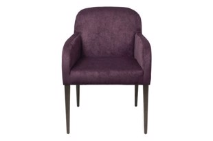 Chair Gotland dining chair velvet hortensia fra Cozy Living