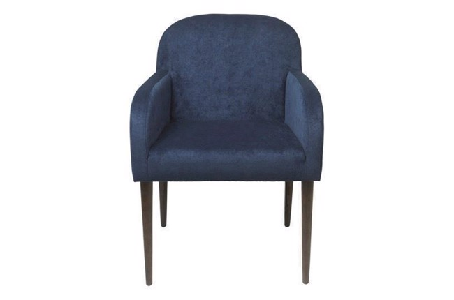 Image of   Chair Gotland dining chair velvet navy fra Cozy Living