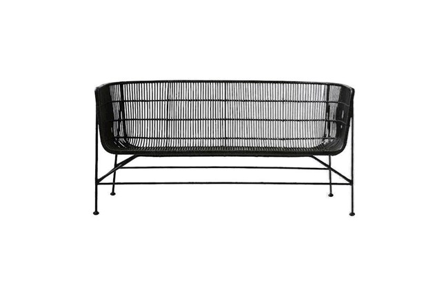 Image of   Coon sofa i sort rattan fra House Doctor