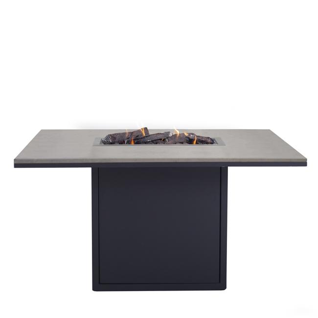 Image of   Cosiloft spisebord med pejs - Sort/Grå - fra Cosi