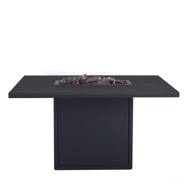 Image of   Cosiloft spisebord med pejs - Sort/Sort - fra Cosi