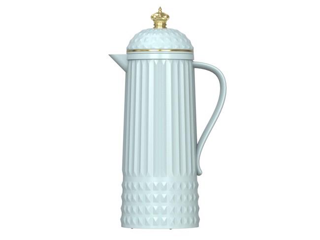 Image of   Crown termokande i glossy lyseblå fra Present Time