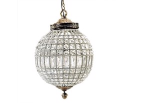 Crystal loftlampe medium fra Nordal