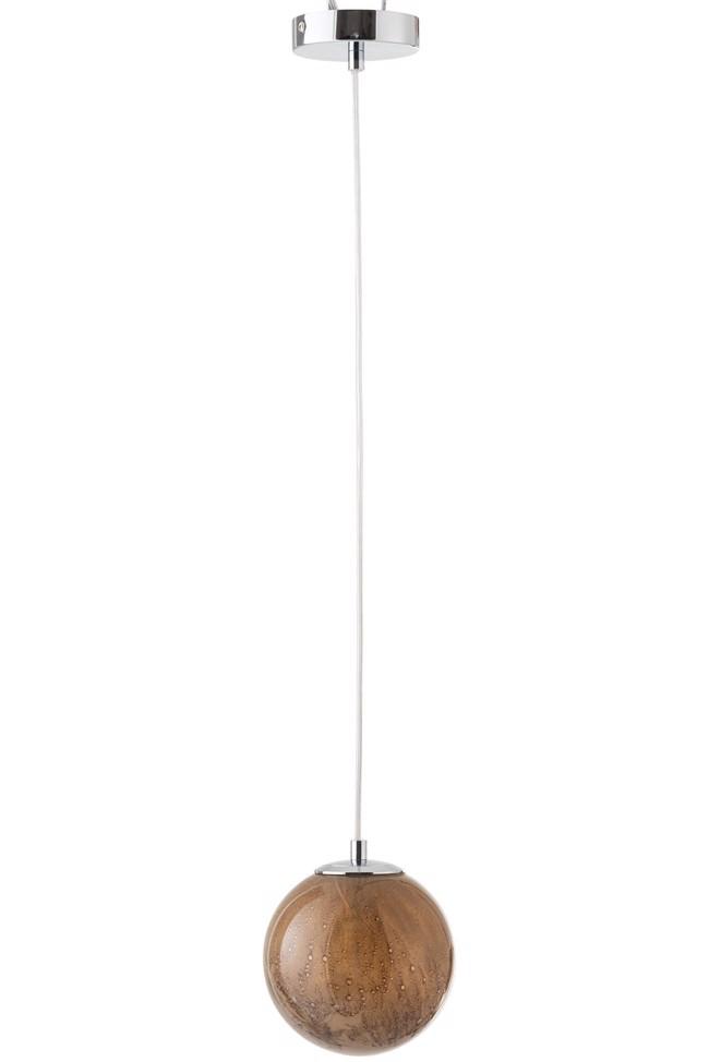 Image of   Dany loftlampe brun glas Ø14,5 cm fra J-Line