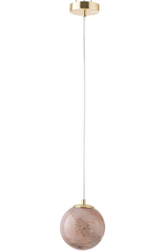 Image of   DAny loftlampe rosa Ø14,5 cm fra J-Line