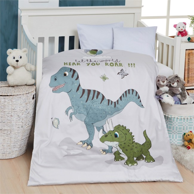 Image of   Baby sengetøj, Dino, 70x100 cm fra by SKAGEN