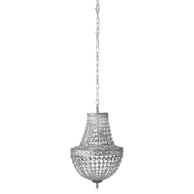 Image of   Divine lysekrone shadow sølv - flere størrelser - fra Lene Bjerre