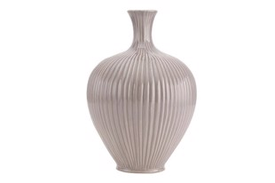Elin vase i farven rock grey fra A Simple Mess