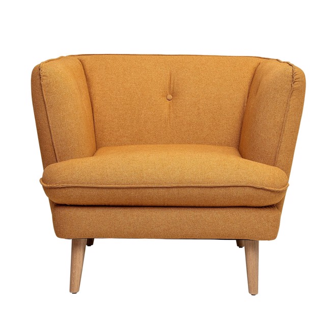 Image of   Elliot Stol, Orange, Polyester fra Bloomingville