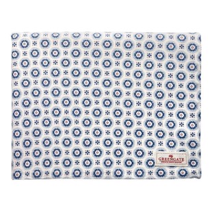 Greengate dug - Tablecloth Erin Petit blue 145x250cm