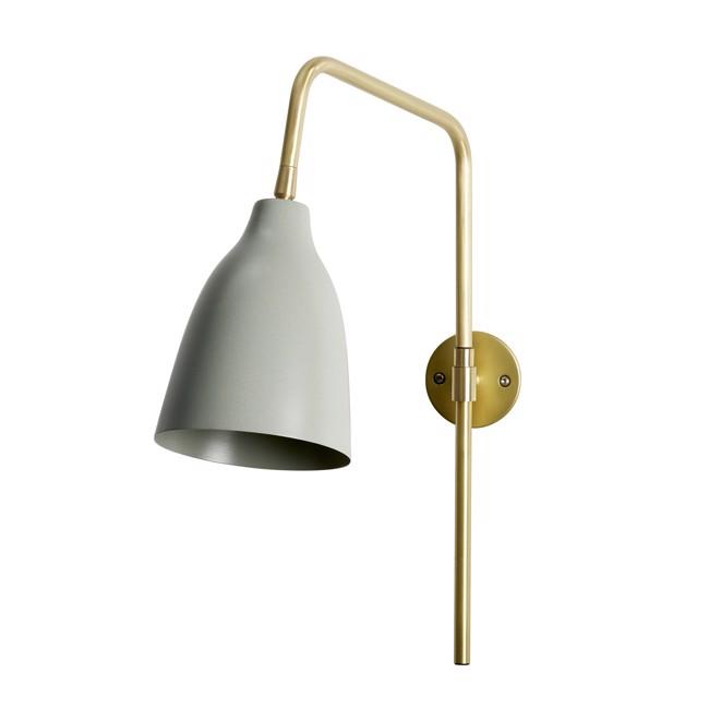 Image of   Evie væglampe - Støvet grøn - fra Lene Bjerre