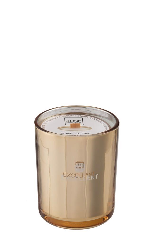 Excellent duftlys – golden honey – 80 timer- fra J-Line