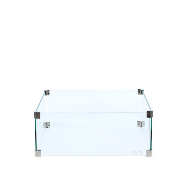 Image of   Firepit glasbeskyttelse - 50x50 cm fra Cosi