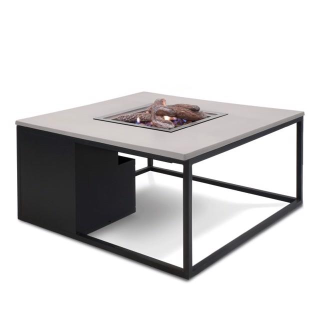 Image of   Firepit havebord med pejs - Sort/grå fra Cosi