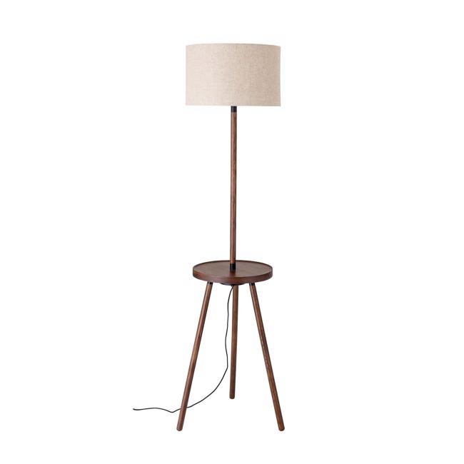Image of   Gulv Lampe, Brun, Ask H162 cm fra Bloomingville