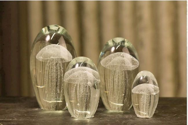 hvide gopler i glas flere st rrelser og farver. Black Bedroom Furniture Sets. Home Design Ideas