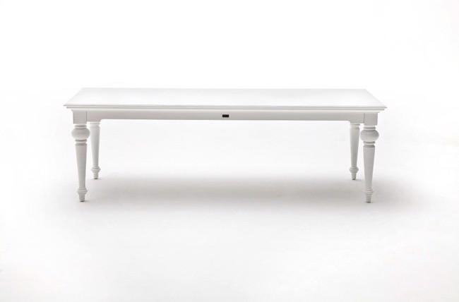 Spisebord i hvid 100x240cm fra Novasolo