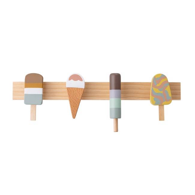 Image of   Ice cream knagerække fra Bloomingville Mini